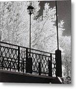 Wangaratta Footbridge Metal Print