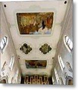 Wangen Organ And Ceiling Metal Print