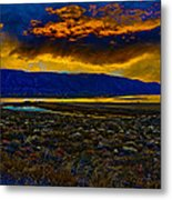 Waning Light Metal Print