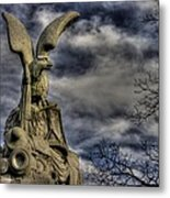 War Eagles - 88th Pa Volunteer Infantry Cameron Light Guard-b1 Oak Hill Autumn Gettysburg Metal Print