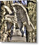War Eagles - Vermont Company F 1st U. S. Sharpshooters-a1 Pitzer Woods Gettysburg Metal Print by Michael Mazaika