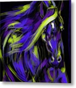 War Horse Metal Print