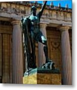 War Memorial Statue Youth In Nashville Metal Print