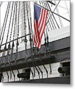 War Ship Metal Print