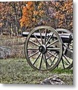 War Thunder - 4th New York Independent Battery Crawford Avenue Gettysburg Metal Print