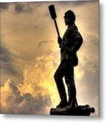 War Thunder - The Clouds Of War - 4th New York Independent Battery Near Devils Den Gettysburg Metal Print