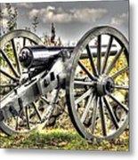 War Thunder - The Letcher Artillery Brander's Battery West Confederate Ave Gettysburg Metal Print