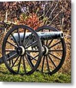 War Thunder - The Morris Artillery Page's Battery Oak Hill Gettysburg Metal Print