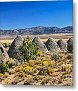 Wards Charcoal Ovens View Metal Print
