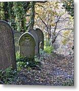 Wardsend Cemetery Metal Print