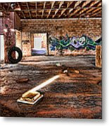 Warehouse Metal Print