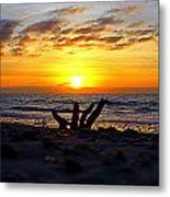 Warm Beginnings Metal Print