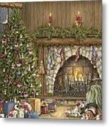 Warm Christmas Metal Print