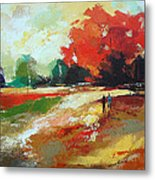 Warm Fall Day 2 Metal Print