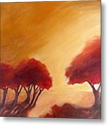 Warm Light Metal Print by Beverly Shaw-starkovich