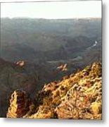 Warm Light Grand Canyon Metal Print