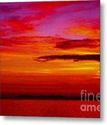 Warm Sunset Metal Print