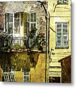 Warmth Of Old Villefranche Metal Print