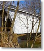 Warnke Covered Bridge  Metal Print