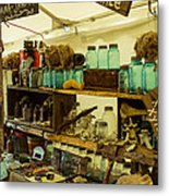 Warrenton Antique Days Eclectic Display Metal Print