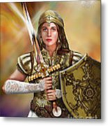 Warrior Bride Of Christ Metal Print