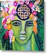 Warrior Goddess Metal Print by Tracie Hanson