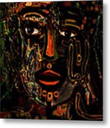 Warrior Metal Print