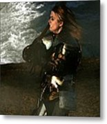 Warrior Woman Metal Print