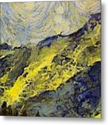 Wasatch Range Spring Colors Metal Print