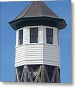 Wash Woods Coast Guard Tower Metal Print