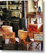 Washboards And Soap Metal Print
