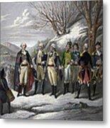 Washington & Generals Metal Print