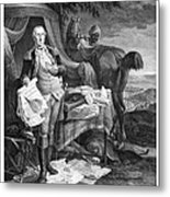 Washington At Yorktown Metal Print