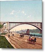 Washington Bridge 1901 Metal Print