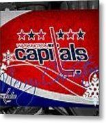 Washington Capitals Christmas Metal Print