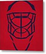 Washington Capitals Goalie Mask Metal Print