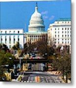 Washington D.c. - Elevated View Metal Print
