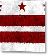 Washington D.c. Flag Metal Print
