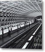Washington Dc Metro Station I Metal Print