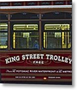 Washington Dc Trolley Metal Print