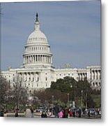 Washington Dc - Us Capitol - 01135 Metal Print by DC Photographer
