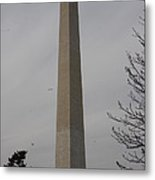Washington Monument - Cherry Blossoms - Washington Dc - 01135 Metal Print