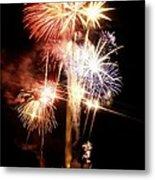 Washington Monument Fireworks 2 Metal Print
