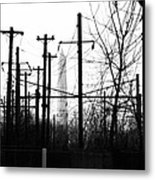 Washington Monument From The Train Yard. Washington Dc Metal Print