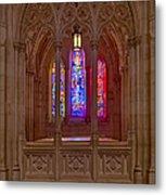 Washington National Cathedral Colors Metal Print