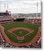 Washington Nationals V. Cincinnati Reds Metal Print