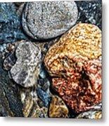 Washington River Rock Metal Print