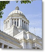 Washington State Capitol Building Dome Metal Print