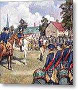 Washingtons Army, 1776 Metal Print