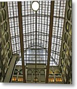 Inside The Old Post Office Metal Print